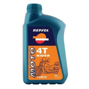 Moto Rider 4T 15W-50 REPSOL (1 L)