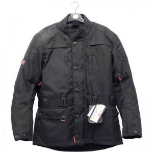 Textilní bunda na motocykl černá