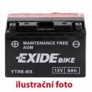 Motobaterie Exide 12V/26,5 Ah YT7B-BS