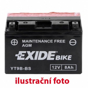 Motobaterie Exide 12V/6,5 Ah YT7B-BS
