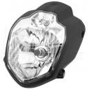 Univerzální přední světlo na moto