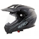 Enduro helma XRC Dual Alpiner black/light grey