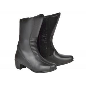 Dámské kožené boty XRC 901601/13 Mindoro